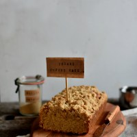 From the range - Molly's sesame coffee cake with hawaij