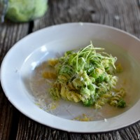 Pulse - Spring pasta with peas, ricotta and lemon