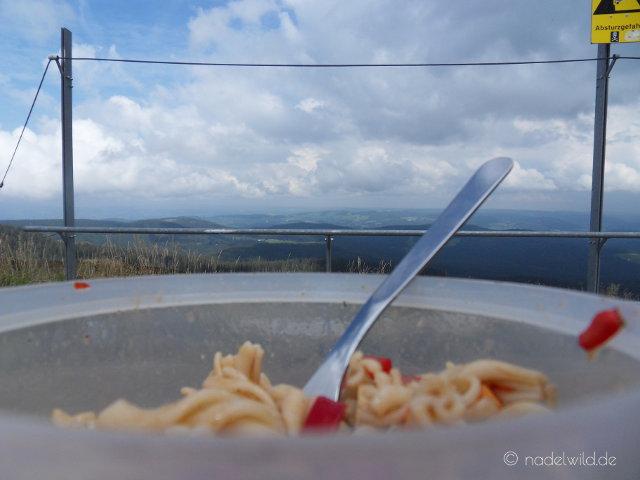 Mittagessen am Feldberg