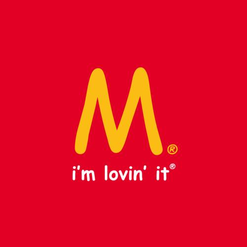 McDonald's Comic Sans