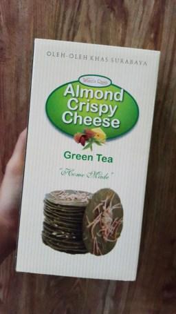 Almond Crispy Green Tea