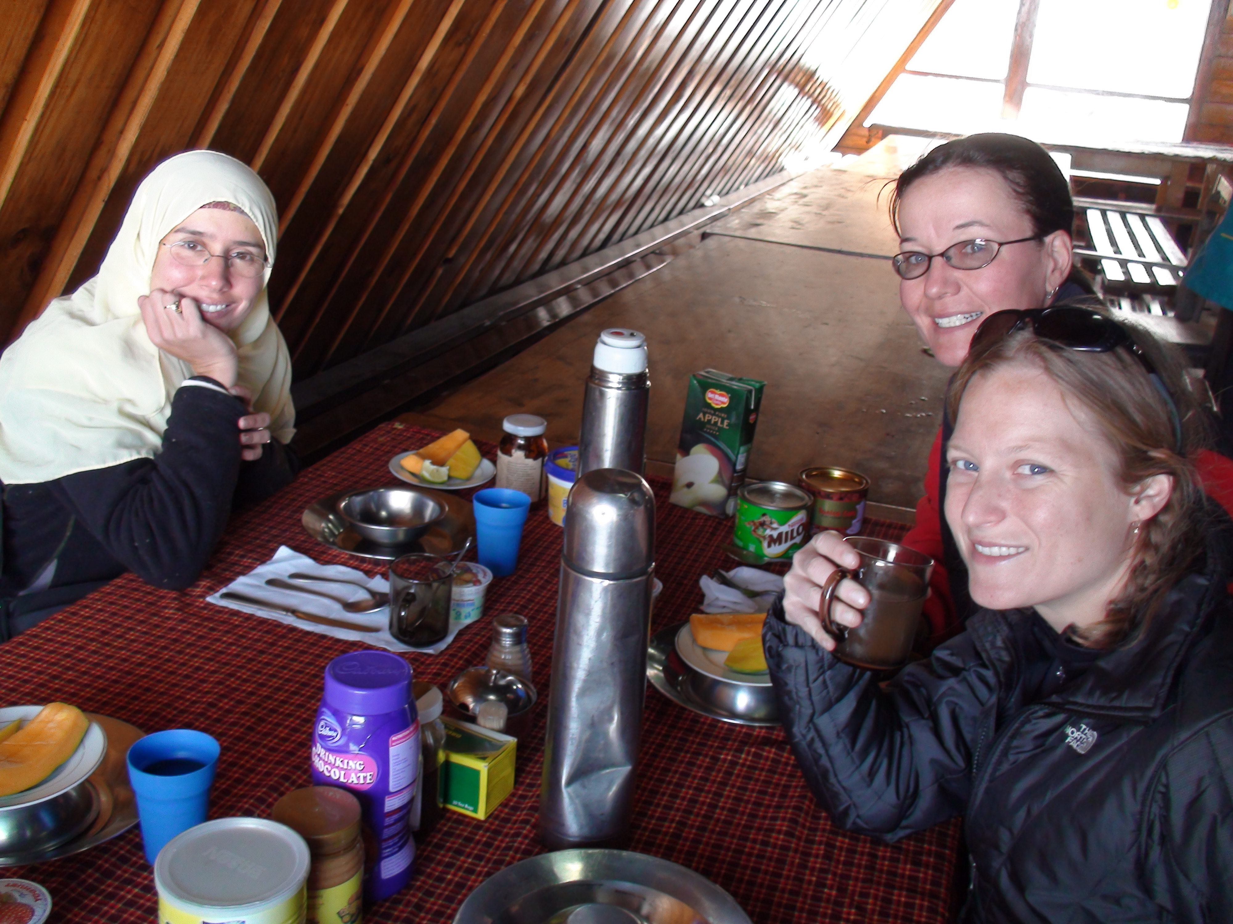 Breakfast at Horombo's!