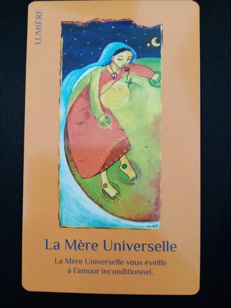la mère universelle des cartes de lumière