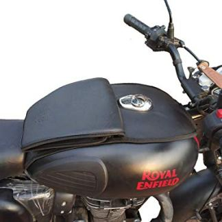 TRENDZ, Royal Enfield Half Tank Cover (Black) for Classic 350/500