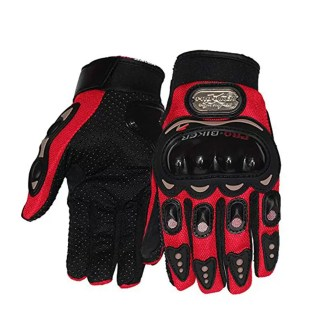 Probiker Leather Motorcycle Riding Gloves