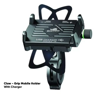 Grand Pitstop Claw-Grip Mobile Holder Mount with Charge