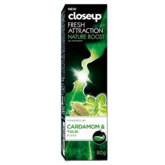 Closeup Toothpaste – Fresh Attraction Nature Boost Gel, 80 g