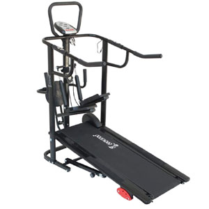 Cockatoo CMT02 Manual Running Machine (Treadmill) for Home