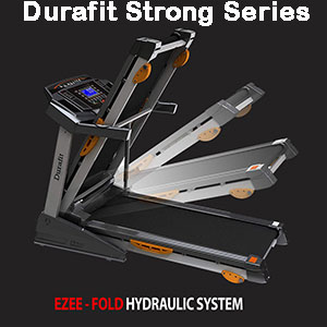 Durafit Strong 2.0HP DC Motorized Fold-able Treadmill