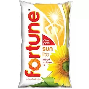 Fortune Sunflower Refined Oil 1L Pouch
