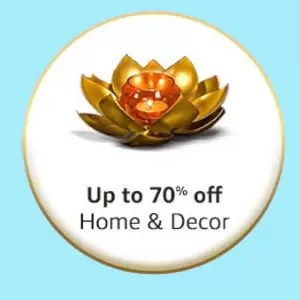 Great Indian Festival offer in Home & Decoration