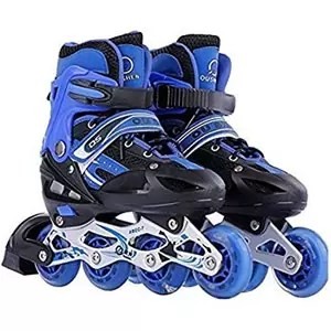 Toy Arena Inline Skates Aluminum Body Adjustable Length for teenagers