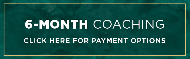 Vip private coaching 6-month investment