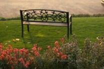 #124 Hillside bench