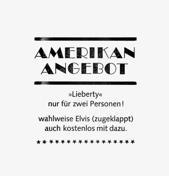 Elvis - Formfleischvorderschinken - Poesie - Lettering