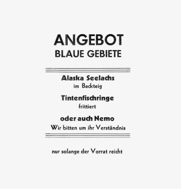 Nemo - Formfleischvorderschinken - Poesie - Handsatz