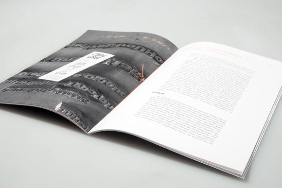 Editorial Design - Fadenheftung - roter Faden - Formfleischvorderschinken