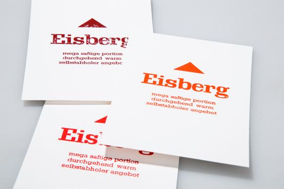 Rottöne Postkarten Heissfolienprägung Typografie Formfleischvorderschinken