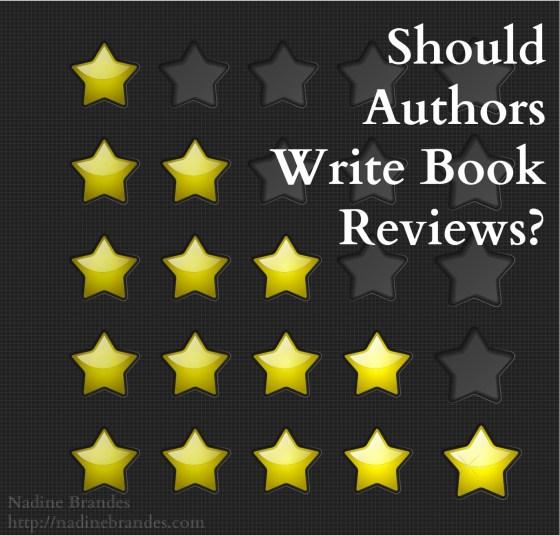 Blog - Should Authors Write Book Reviews (PinterestFacebook)