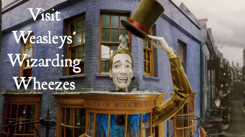 Visit Weasleys' Wizarding Wheezes (pic)