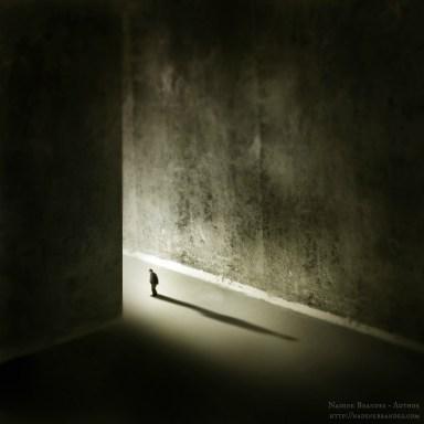Man Walking Through Wall - NB