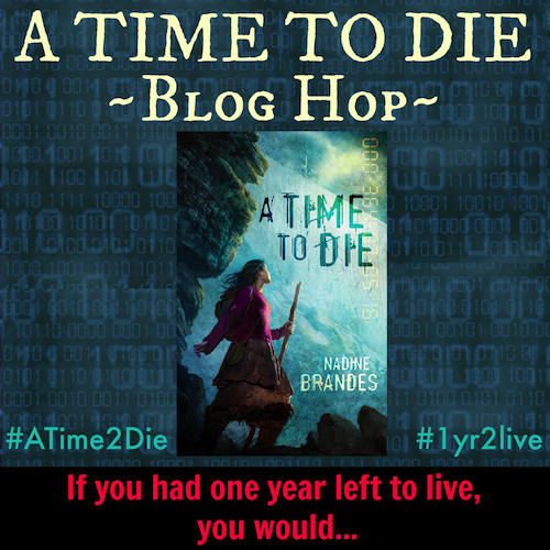 A Time to Die Blog Hop