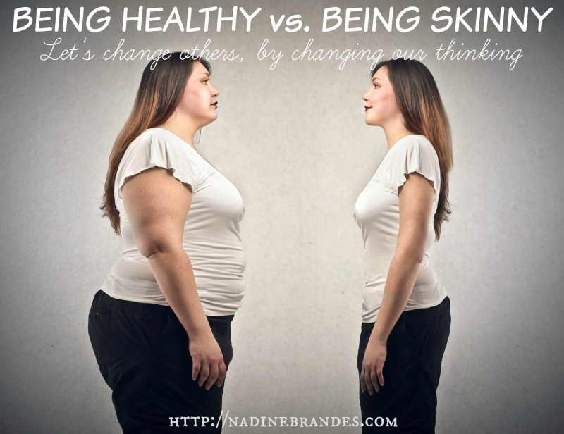 BLOG - healthy vs skinny