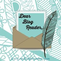 Dear Blog Reader
