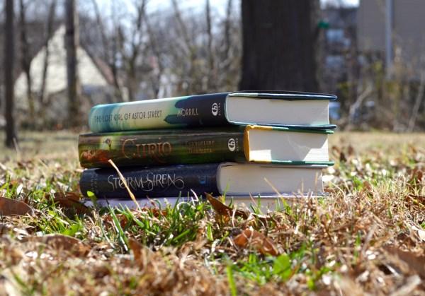 authors reading books