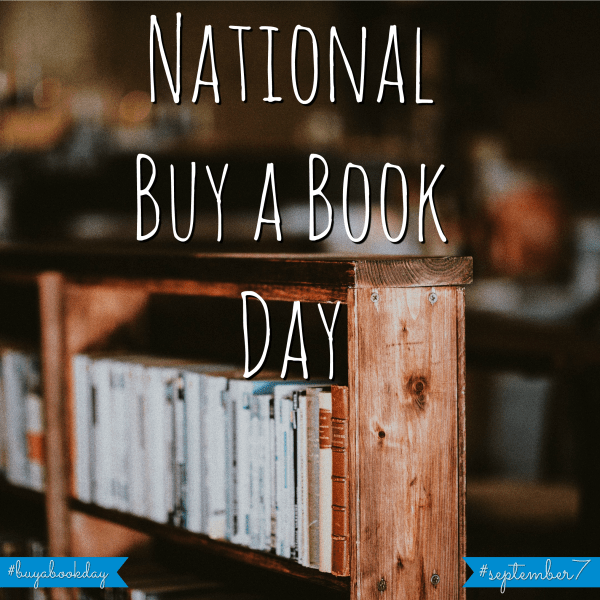 national buy a book day september 7
