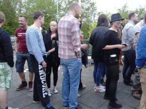 Vertreter der russischen Diaspora in Wupprtal