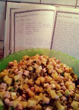 russischer Kartoffelsalat