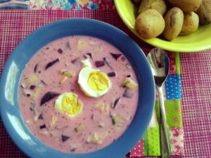 pinke Suppe