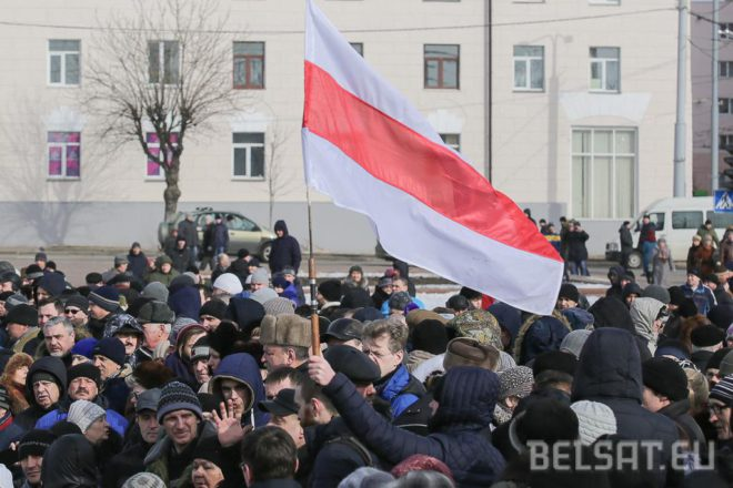 Proteste in Minsk