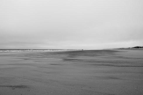 cloudy beach day