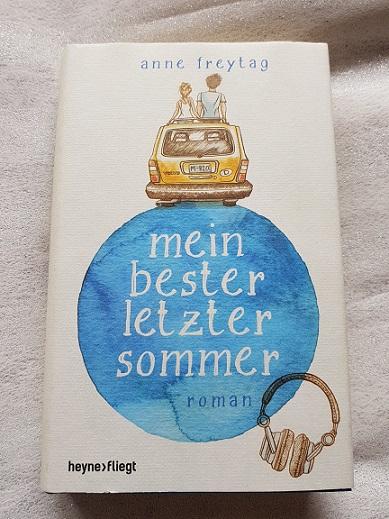 """""""Mein bester letzter Sommer"""" von Anne Freytag"""