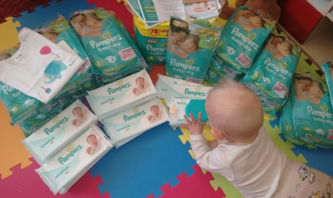 Pampers Baby Dry Botschafterpaket
