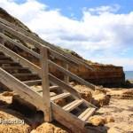 Treppe am Bells Beach
