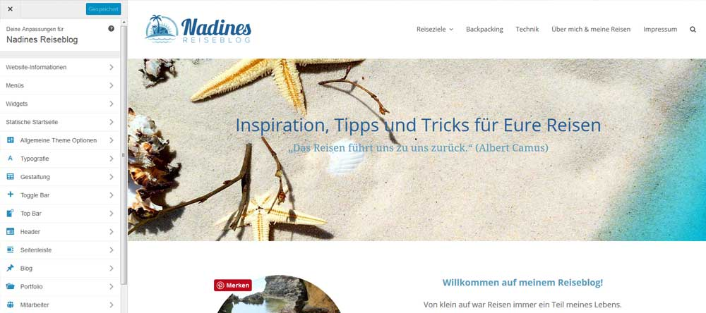 Dein Wordpress Blog