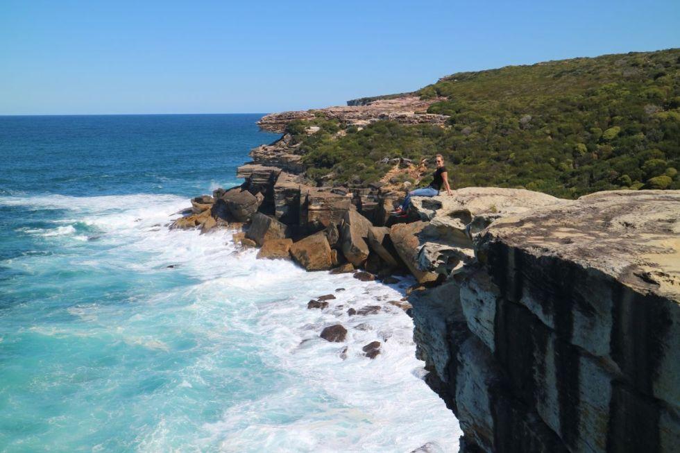 Cliff in Bundeena