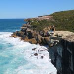 Cliff in Bundeena