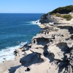 Ein Cliff im Royal National Park