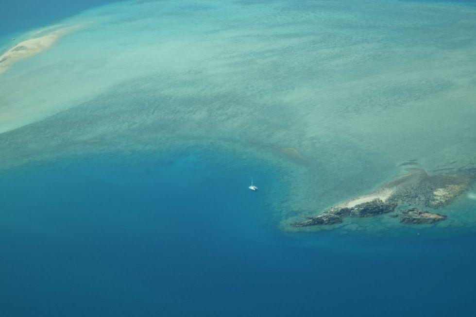 Ein verlassenes Riff