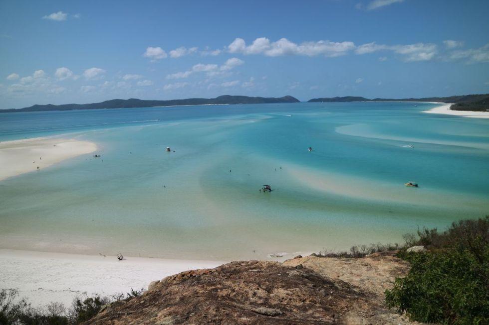 Blick auf Whiteha Beach