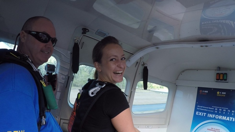 Vor dem Skydive in Airlie Beach