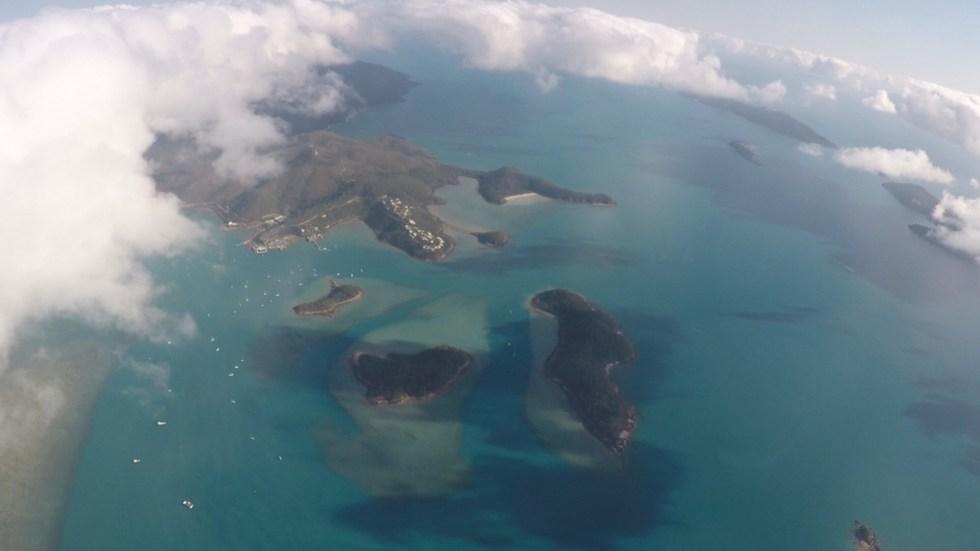 Skydive airlie beach whitsundays