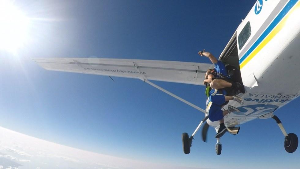 skydive airlie beach sprung nadine
