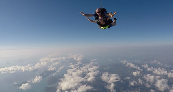 Picture Of My Skydive Made By The External Photographer