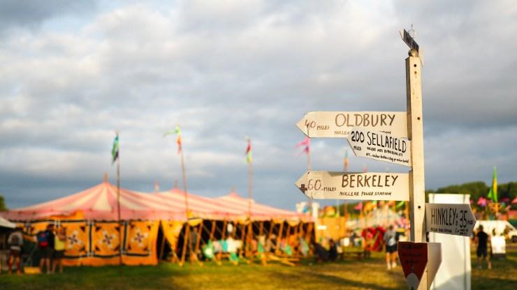glastonbury festival nadine wilmanns
