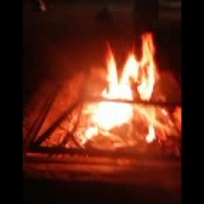 First bonfire of the season. #springisfinallyhere